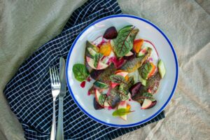 6147 Tommy Roughs with Apple Beetroot and Cucumber 1 - FEATURE