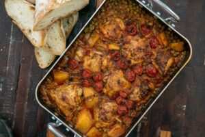 6064 Roast Chicken with Peas and Potatoes 1 - FEATURE