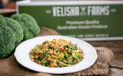 Special Fried Rice, Broccoli, Chinese Broccoli and Peas