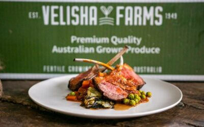 Lamb Cutlets with Pea and Lettuce Ragout