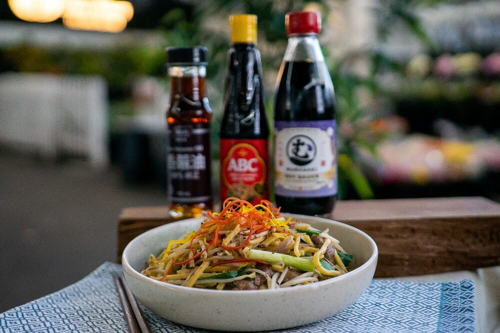 Stir Fried Noodle with Beef