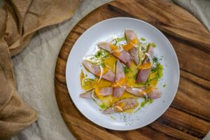 6195 Kingfish with Fennel, Dill _ Mandarin 1 - FEATURE