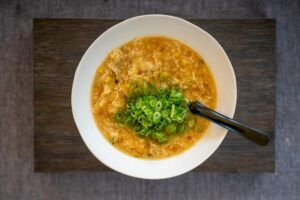 6221 Chicken and Corn Egg Drop Soup 1 - FEATURE